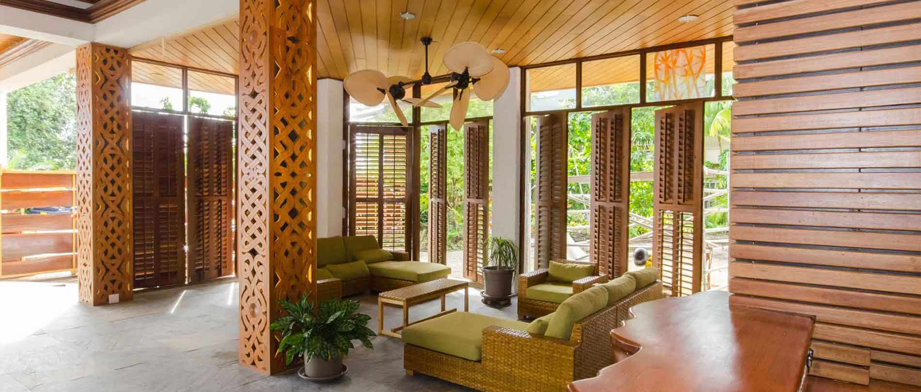 Jacana Amazon Wellness Resort Suriname Hotel Lobby